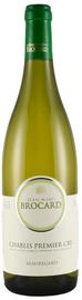 Вино белое сухое  «Chablis Premier Cru Beauregard» 2014 г.