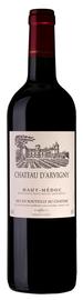 Вино красное сухое «Chateau Beaumont Chateau D'Arvigny» 2012 г.