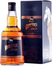 Виски шотландский «White Horse 1900» в подарочной упаковке