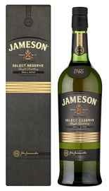 Виски ирландский «Jameson Select Reserve» в подарочной упаковке