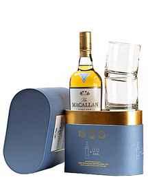 Виски выдержанный «Macallan Fine Oak» +2 стакана, в подарочной упаковке