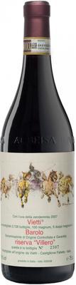 Вино красное сухое «Barolo Riserva Villero» 2007 г.