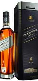 Виски американский «Johnnie Walker Platinum» в подарочной упаковке