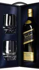 Виски шотландский «Johnnie Walker Blue Label» + 2 стакана