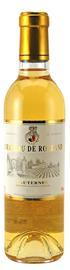 Вино белое сладкое «Chateau De Rolland Sauternes» 2013 г.