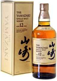 Виски японский «Suntory Yamazaki 12 years» в подарочной упаковке