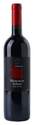 Вино красное сухое «Mukuzani» 2014 г.