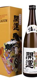 Саке «Doi Shuzojo Kaiun Tokubetsu Junmai» в подарочной упаковке