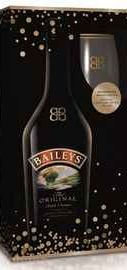 Ликер «Baileys Original Irish Cream» + 2 стакана