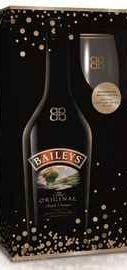 Ликер «Baileys Original Irish Cream» + 2 стакана