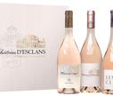 Набор из 4 бутылок розового сухого вина «Chateau d'Esclans»