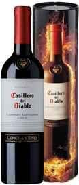 Вино красное сухое «Casillero del Diablo Cabernet Sauvignon Reserva» в металлической коробке