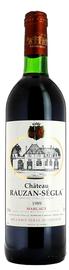 Вино красное сухое «Chateau Rauzan-Segla» 1988 г.