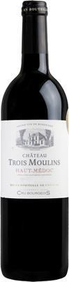 Вино красное сухое «Chateau Trois Moulins» 2011 г.
