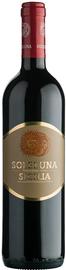 Вино красное сухое «Soleluna Nero D'Avola-Syrah» 2014 г.