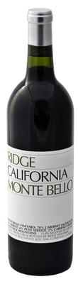 Вино красное сухое «Monte Bello» 1997 г.