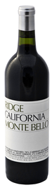 Вино красное сухое «Monte Bello» 1999 г.