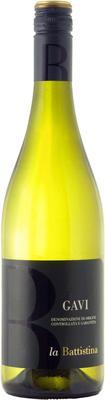 Вино белое сухое «La Battistina Gavi» 2014 г.