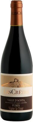 Вино красное сухое «Les Cretes Fumin, 0.75 л» 2012 г.
