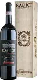 Вино красное сухое «Radici Taurasi» 2008г., в подарочном деревянном футляре