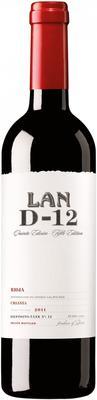 Вино красное сухое «LAN D-12» 2011 г.