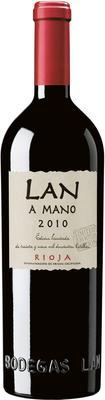 Вино красное сухое «LAN А Mano, 0.75 л» 2010 г.
