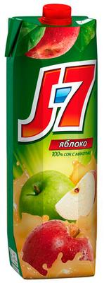 Сок «J7 Яблоко» с мякотью