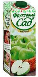 Сок «Фруктовый сад яблоко»
