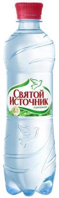 Вода газированная «Святой источник, 0.33 л» пластик
