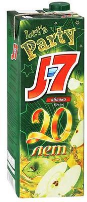 Сок «J7 ЯБЛОКО»