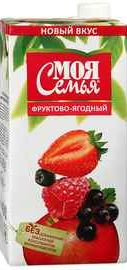 Сок «Моя Семья Фруктово-Ягодный»