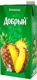 Сок «Добрый Ананас»