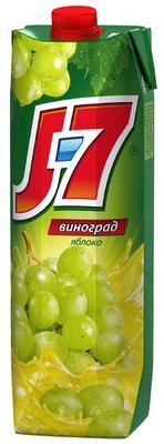 Сок «J7 Белый виноград , 1 л»