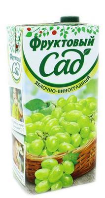 Сок «Фруктовый сад Яблоко-Виноград»