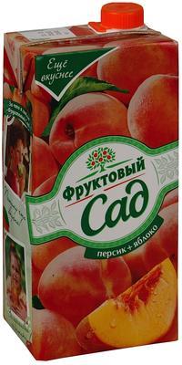 Сок «Фруктовый сад Персик-Яблоко, 1 л»
