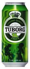 Пиво «Tuborg Green» в жестяной банке