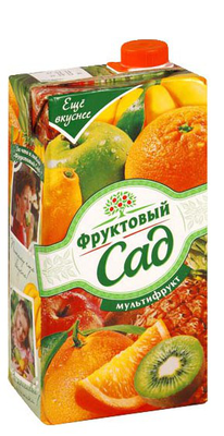 Сок «Фруктовый сад Мультифрукт, 0.95 л»