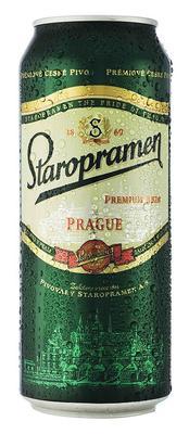Пиво «Staropramen, 0.45 л» в жестяной банке