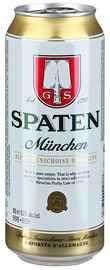Пиво «Spaten Munchen» в жестяной банке