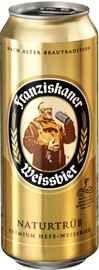 Пиво «Franziskaner» в жестяной банке