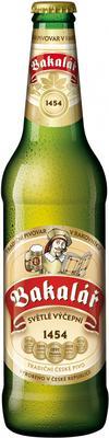 Пиво «Bakalar Svetle Vycepni»