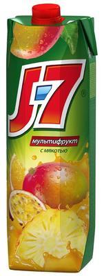 Сок «J7 Мультифрукт нектар, 0.2 л»