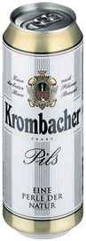 Пиво «Krombacher» в жестяной банке