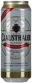 Пиво «Clausthaler Classic б/алк» в жестяной банке