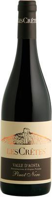 Вино красное сухое «Les Cretes Pinot Nero» 2014 г.