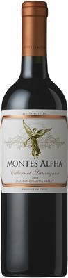 Вино красное сухое «Montes Alpha Cabernet Sauvignon» 2012 г.