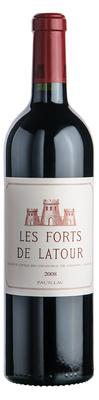 Вино красное сухое «Les Forts de Latour» 2008 г.