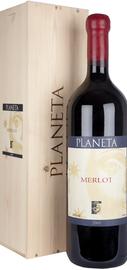 Вино красное сухое «Merlot Planeta» 2010 г.