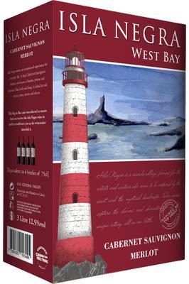 Вино красное полусухое «Isla Negra West Bay Cabernet Sauvignon - Merlot» 2014 г.