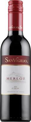 Вино красное сухое «Sanvigilio Merlot, 0.75 л» 2014 г.